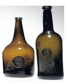 Danish rum bottles, St Thomas, USVI