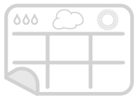 USVI weather calendar icon