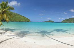 Maho Bay Beach, St John, US Virgin Islands