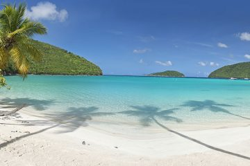 Maho Bay Beach, St John, US Virgin Islands